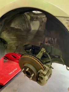 86 ZC6 HKS車高調交換